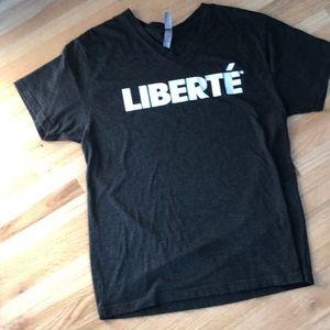 Liberte T shirt- V neck